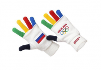 Цветные перчатки-«митенки» BOSCO с символикой Сочи-2014