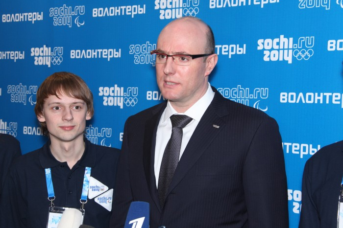 Президент Оргкомитета «Сочи 2014» Д.Чернышенко