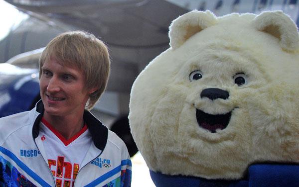 Участник Олимпиады-2014 конькобежец Иван Скобрев (фото Итар-Тасс)